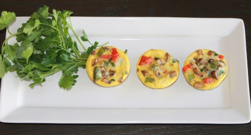 Hash Brown & Vegetable Mini Frittatas