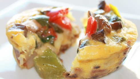 Hash Brown & Vegetable Frittatas