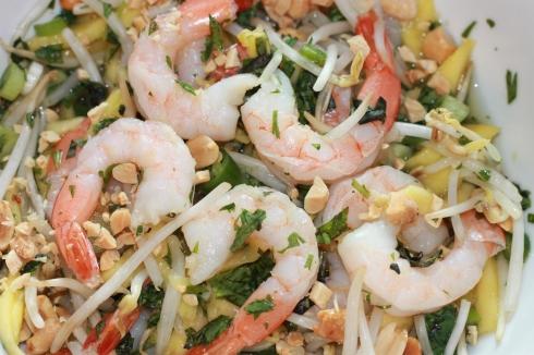 Green Mango & Shrimp Salad