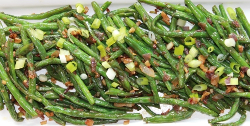 Dry-cooked Haricot Verts