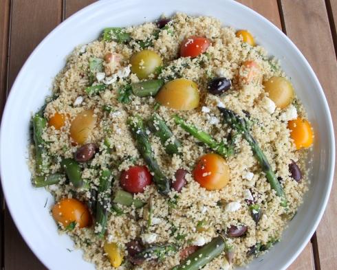 Asparagus & Couscous Salad